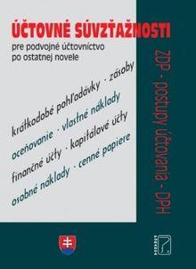 Účtovné súvzťažnosti 2020 - ZDP, DPH a Postupy účtovania po novelách