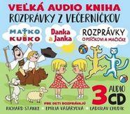 Veľká audio kniha - Rozprávky z večerníčkov 3CD BOX