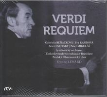 VERDI G. REQUIEM / G.Beňačková, E.Randová, P.Dvorský, P.Mikuláš / PRSO / O.Lenárd (2CD)