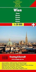 Viedeň - plán mesta 1 : 20 000