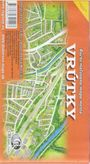 Vrútky maľovaná mapa mesta