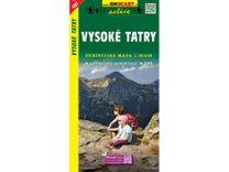 Vysoké Tatry 1:50.000 Turistická mapa