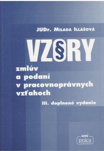 Vzory zmluv a podaní v pracovných vzťahoch III. doplnené vydanie