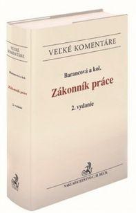 Zákonník práce - Velký komentár (2. vydanie)