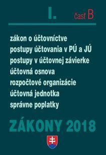 Zákony 2018 - I. časť B
