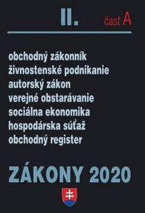 Zákony 2020 časť A - obchodné zákony a predpisy