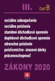 Zákony 2020 III. časť B - Zdravotné, dôchodkové, nemocenské poistenie
