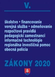 Zákony 2020 V. - Verejná správa a samospráva