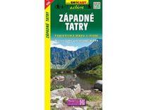 Západné Tatry 1:50.000 Turistická mapa