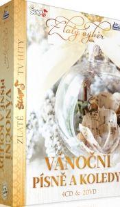 Zlatý výběr - vánoční písně a koledy 4CD+2DVD
